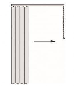 vertical sterowanie i pakiet po lewej stronie