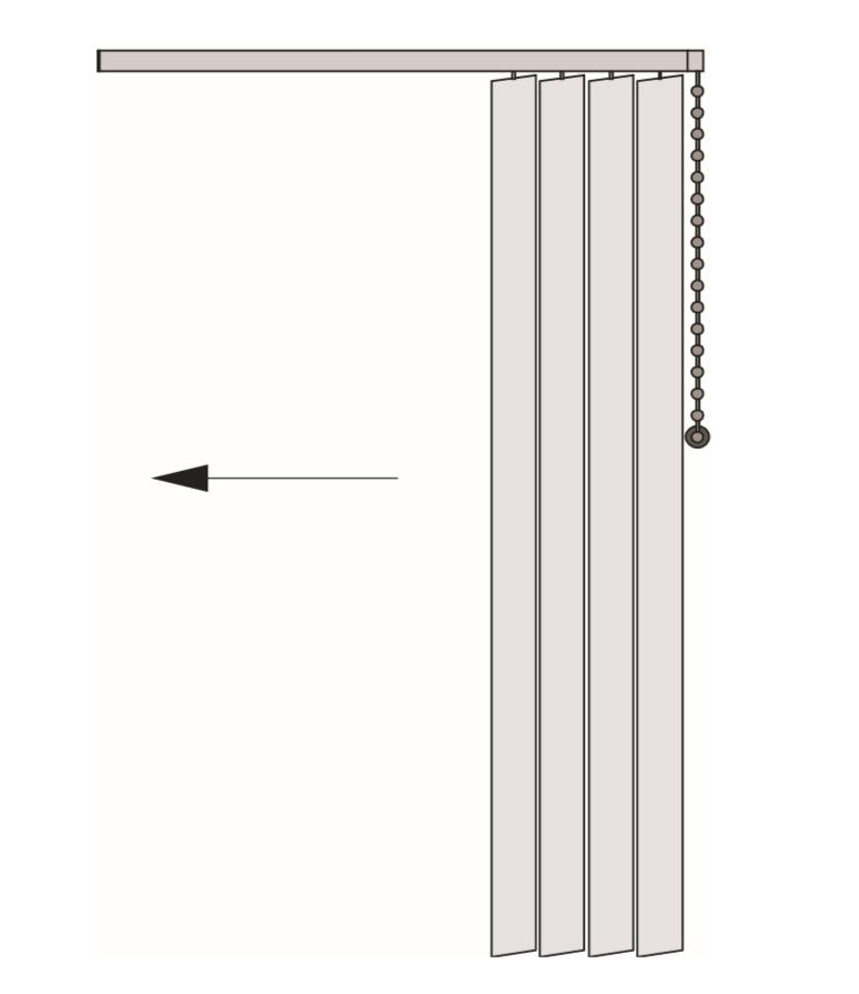 vertical sterowanie i pakiet po prawej stronie
