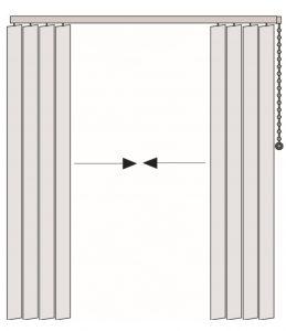 vertical sterowanie po prawej stronie pakiet dzielony na środku